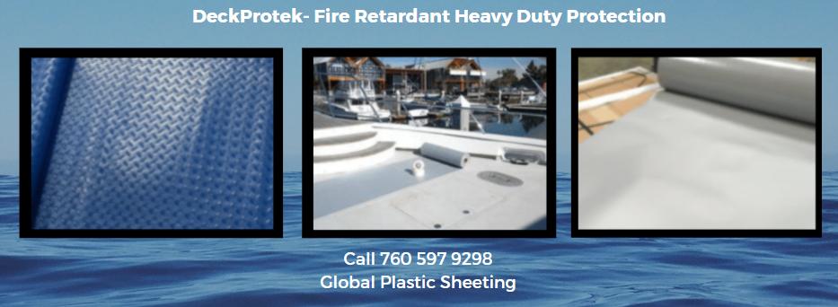 Heavy Duty Plastic Sheeting For Navy, Coast Guard...