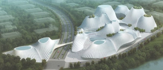 Tension fabric building  Taichung