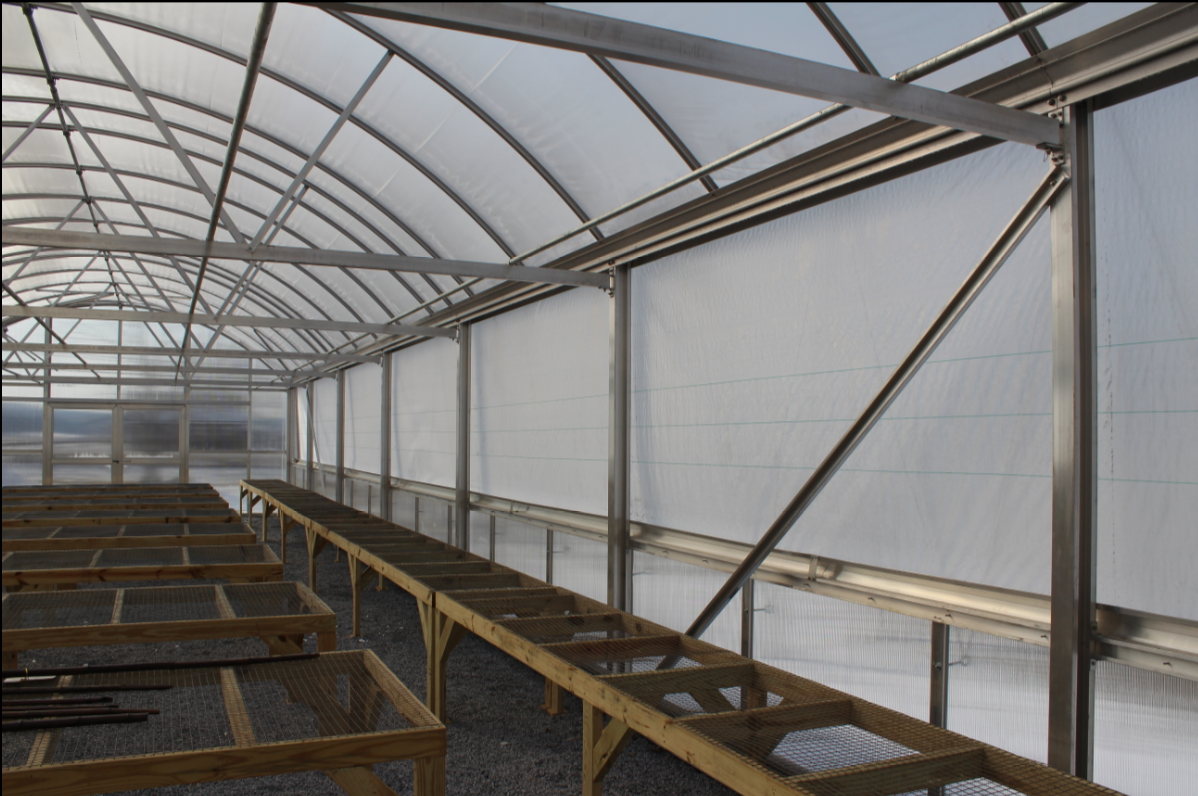 Greenhouse side curtain